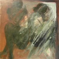 Nr 1 - 100 x 100cm. Acryl on canvas.