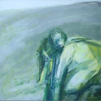 Nr 5 - 100 x 100cm. Acryl on canvas.