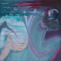 Nr 6 - 100 x 100cm. Acryl on canvas.
