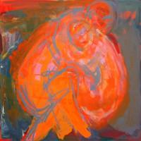 Nr 10 - 70 x 70cm. Acryl on canvas.