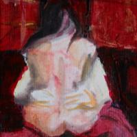 Nr 15 - 13 x 20cm. Acryl on canvas.