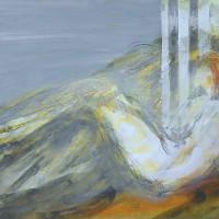 Nr 17 - 40 x 80cm. Acryl on canvas.