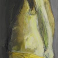 Nr 19 - 70 x 99cm. Acryl on canvas.