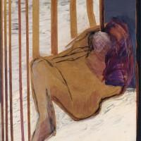 Nr 11. 132 X 110cm. Oil on canvas.
