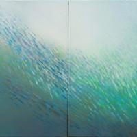 """Fish nr30"" 162 x 60 cm, acrylic on canvas"