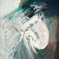 nr 1  100 x 100 cm acrylic on canvas
