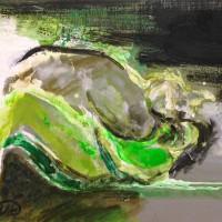 nr 10  30 x 23 cm acrylic on canvas