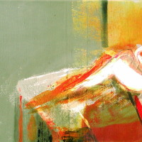 nr 13  60 x 30 cm acrylic on canvas