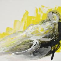 nr 14  116 x 81cm acrylic on canvas