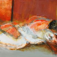 nr 14  80 x 40 cm acrylic on canvas