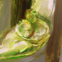 nr 19  60 x 73 cm acrylic on canvas