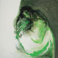 nr 2  100 x 100cm acrylic on canvas