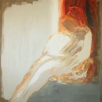 nr 3  100 x 100cm acrylic on canvas