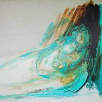 nr 3  98 x 83cm acrylic on canvas