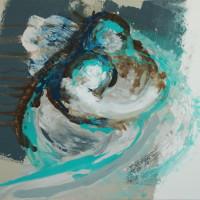 nr 5  60 x 80 cm acrylic on canvas