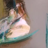 nr 6  30 x 30 cm oil pastel ,acrylic on bristol