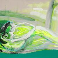 nr 6  50 x  70 cm acrylic on canvas