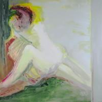nr 7  100 x 100 cm acrylic on canvas