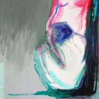 nr 8  100 x 100 cm acrylic on canvas