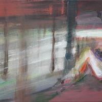 nr 8  60 x 30 cm acrylic on canvas